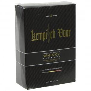 Kempisch Vuur Whisky singe cask  50 cl