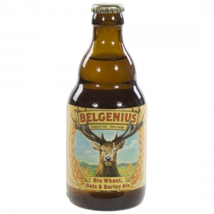 Belgenius Wheat, Oats & Barley  33 cl   Fles