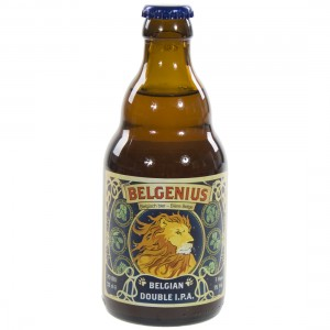 Belgenius Double Ipa  33 cl   Fles