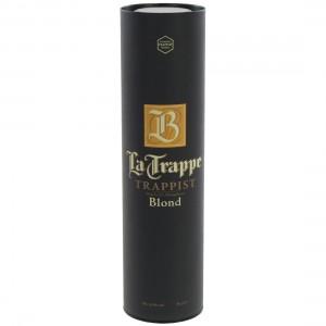 La Trappe Trappist koker  Blond  75 cl  1 fles in koker