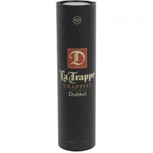 La Trappe Trappist koker  Dubbel  75 cl  1 fles in koker