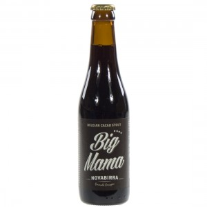 Big Mama Stout  Donker  33 cl   Fles