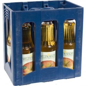 Weldenhof fruitsap  Appel  1 liter  Bak  6 fl