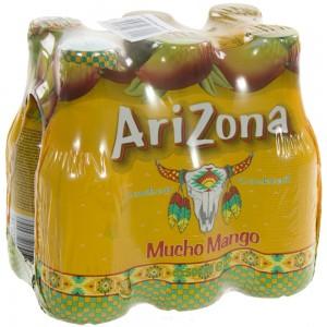 Arizona  Mucho Mango Juice  50 cl  Pak  6 st