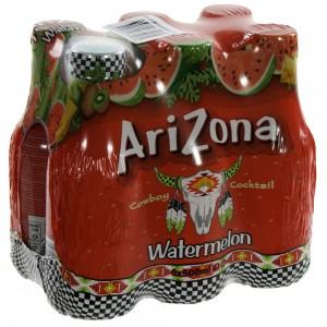 Arizona  Watermelon Juice  50 cl  Pak  6 st