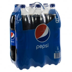 Pepsi PET  Regular  1,5 liter  Pak  6 st