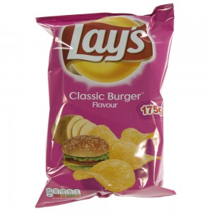Lays Chips  Burger   Stuk  175 g