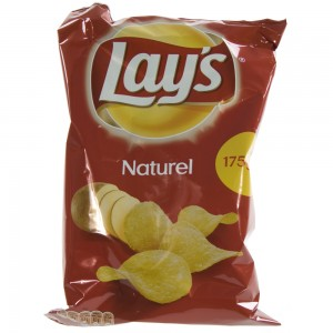 Lays Chips  Naturel   Stuk  175 g