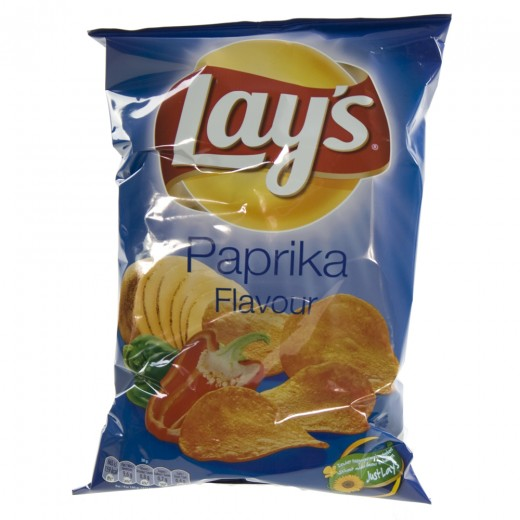 Lays Chips  Paprika   Stuk  175 g
