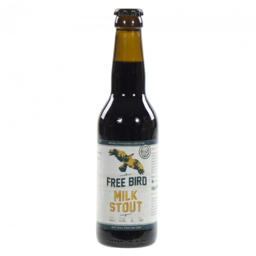 Free Bird Milk Stout  33 cl   Fles