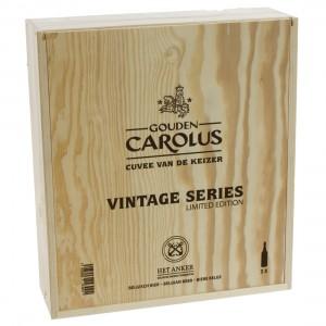 Gouden Carolus Cuvee vd Keizer Vintage series kist  75 cl  3 flessen