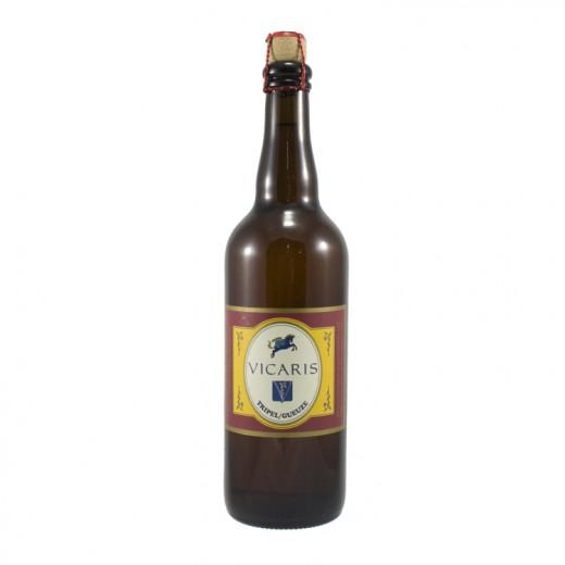 Vicaris Tripel/Gueuze  Blond  75 cl   Fles