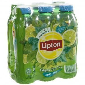 Lipton PET  Zero Munt Limoen  50 cl  Pak  6 st