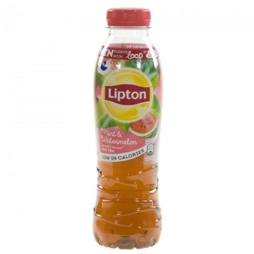 Lipton PET  Mint&Watermelon  50 cl   Fles