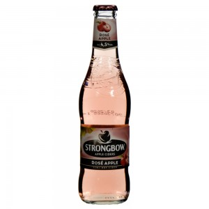 Strongbow Apple Ciders  Rose Apple  33 cl   Fles