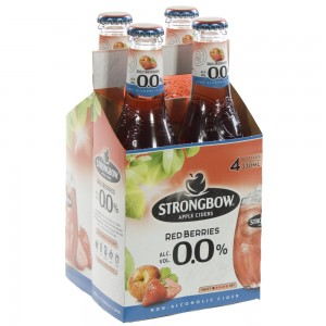 Strongbow Apple Ciders 0%  Red Berries  33 cl  Clip 4 fl