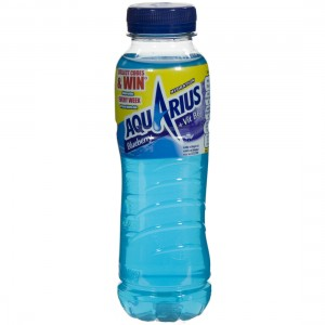 Aquarius  Blue Berry  33 cl   Fles