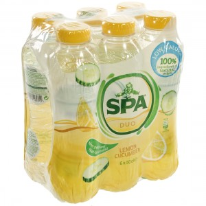 Spa Duo Pet  Lemon-Cucumber  50 cl  Pak  6 st