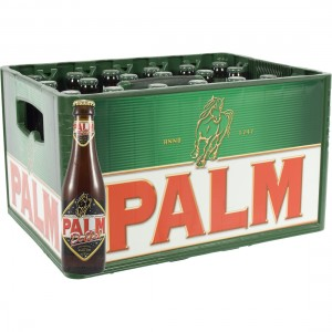 Palm dobbel  Amber  25 cl  Bak 24 st