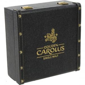 Gouden Carolus Singel Malt koffer incl. 2 gl  50 cl