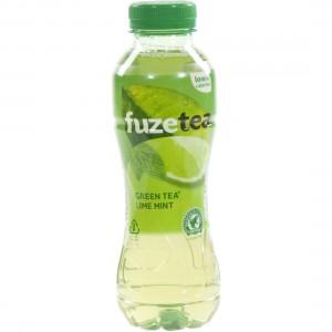 Fuze Tea PET  Green Lime Mint  40 cl   Fles