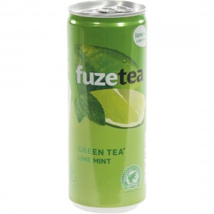 Fuze Tea BLIK  Green Lime Mint  25 cl  Blik