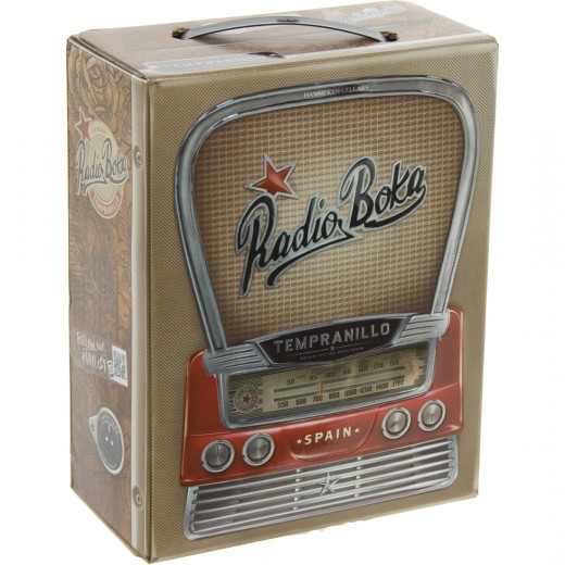 Radio Boka Tempranillo  3 liter  Vat