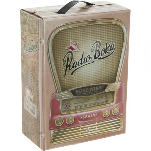 Radio Boka Rosé  3 liter  Vat