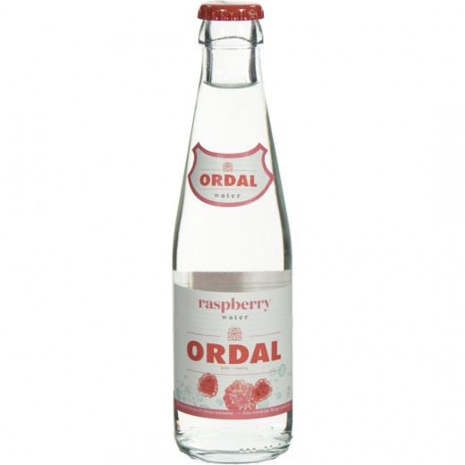 Ordal Fruitwater  Framboos  20 cl   Fles