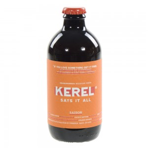 Kerel Says It All  Saison  33 cl   Fles
