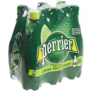Perrier Limoen Pet  50 cl  Pak  6 st