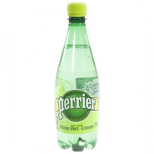 Perrier Limoen Pet  50 cl   Fles