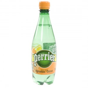 Perrier Agrum PET  50 cl   Fles