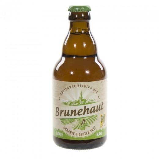 Brunehaut bio  Blond  33 cl   Fles