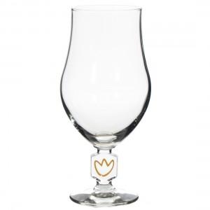 Bloemenbier glas  Breed