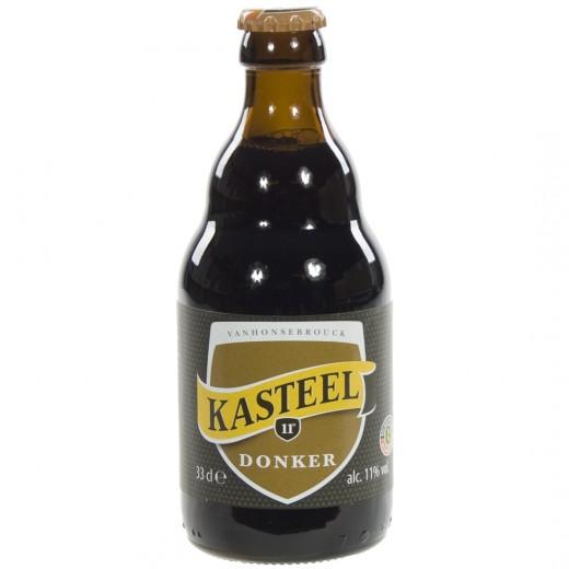 Kasteelbier  Donker  33 cl   Fles