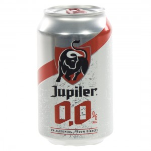 Jupiler 0,0%  33 cl  Blik