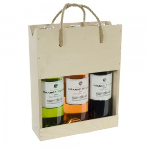 Wijnkist Bergerac Grange Neuve  kist 3 fl
