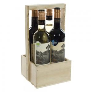 Wijnkist El abuelo Open  Kist 4fl
