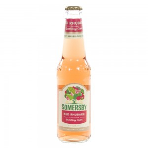 Somersby Apple cider 4.5%  Rhubarb  33 cl   Fles