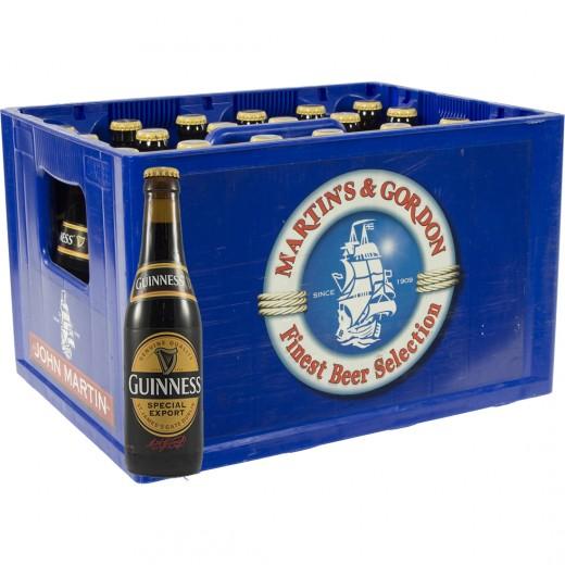 Guinness Stout  Donker  33 cl  Bak 24 st