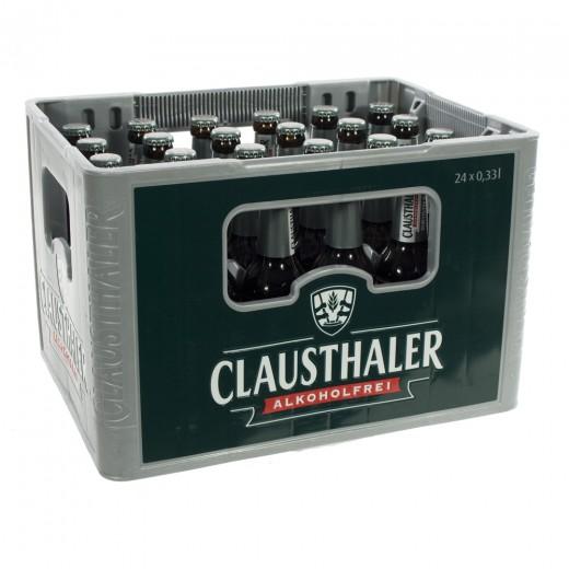 Clausthaler  33 cl  Bak 24 st