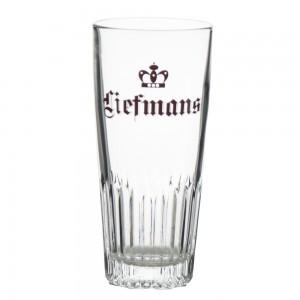 Liefmans glas recht ribbel  25 cl