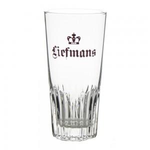 Liefmans glas recht ribbel  33 cl