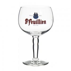 Glas st feuillin   Stuk