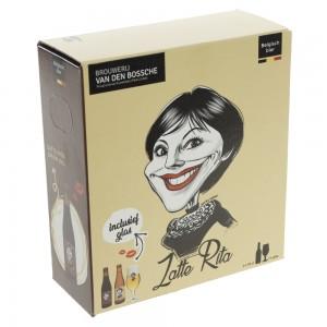 Zatte Rita Geschenkverpakking  33 cl  2fles+ 1glas