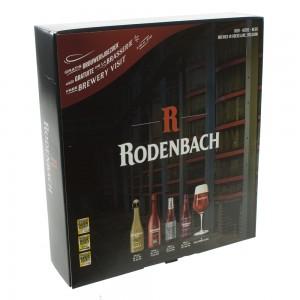 Rodenbach Mix Geschenk (2x33cl+ 2x37,5cl+glas)  4fles+ 1glas