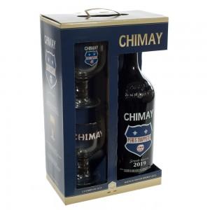 Chimay Grande reserve Geschenk  1,5 liter  1fles + 2glazen