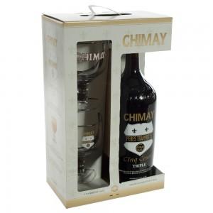 Chimay Magnum Cinq Cents geschenk  1,5 liter  1fles + 2glazen