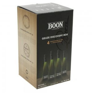 Boon oude geuze vat Discovery Box  37,5 cl  4Fles
